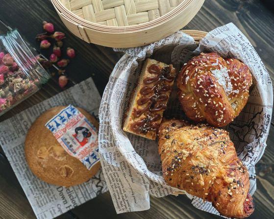 Pastries from Kouign Café