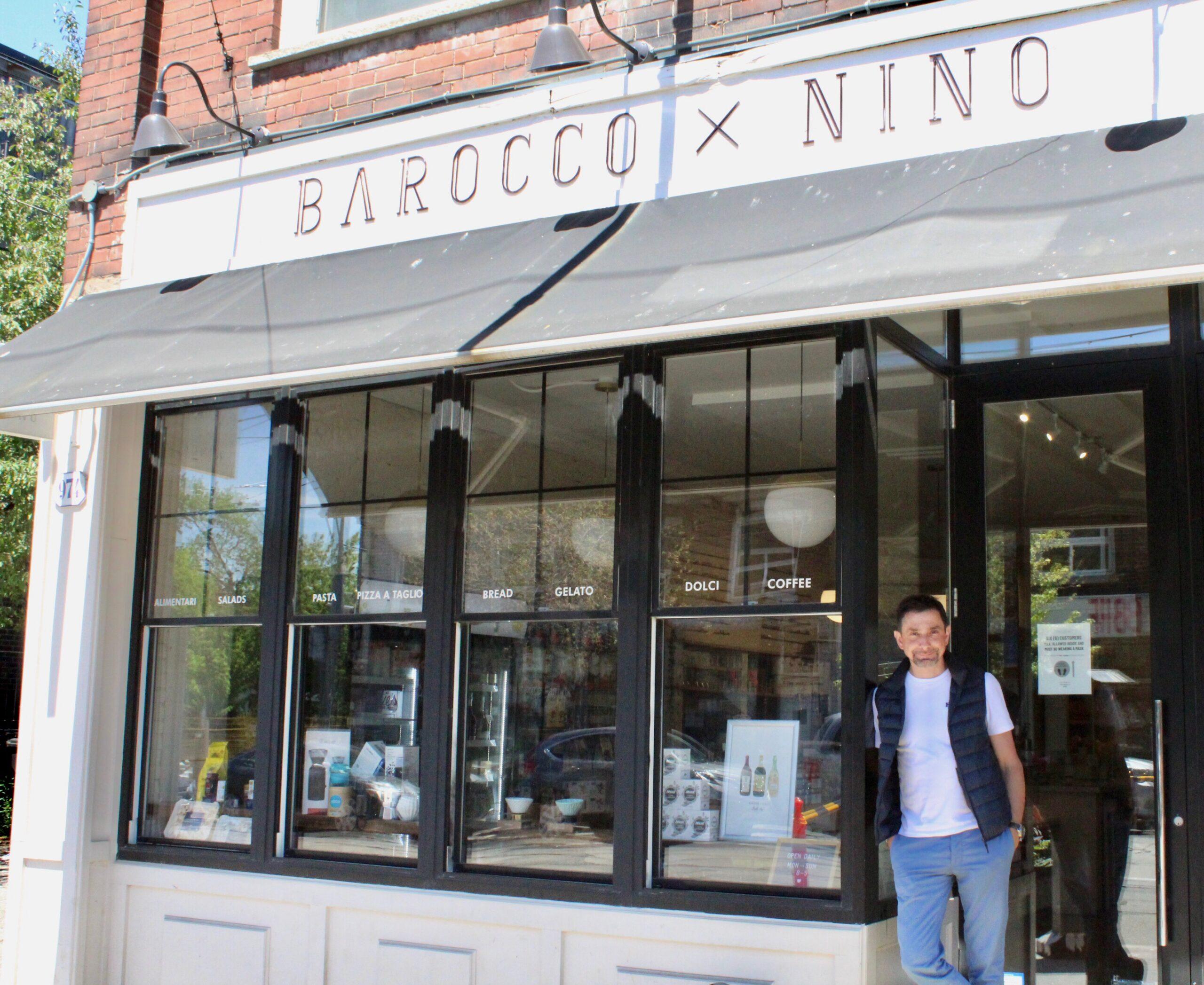Image Alt Text: Barocco X Nino owner Bruno Colozza