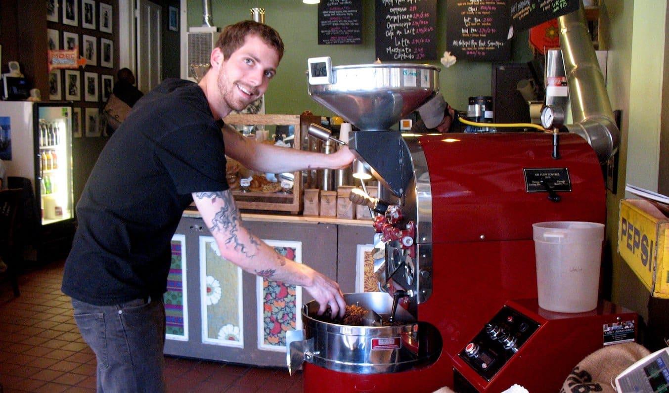 Cafe employee