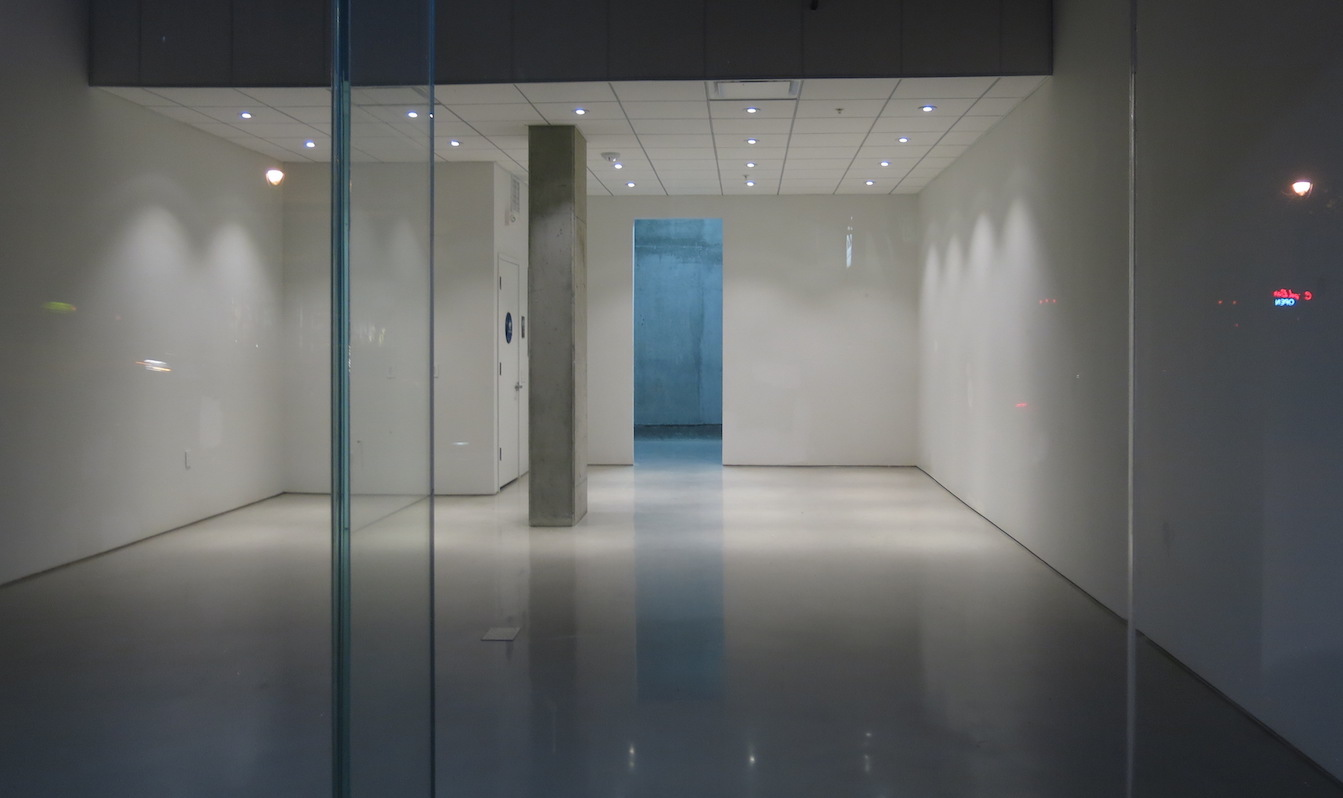 Empty business space