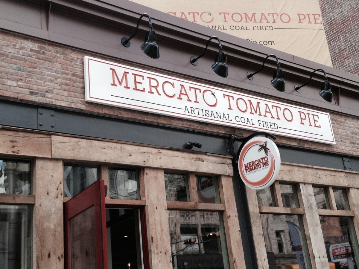 Mercato Tomato Pie restaurant