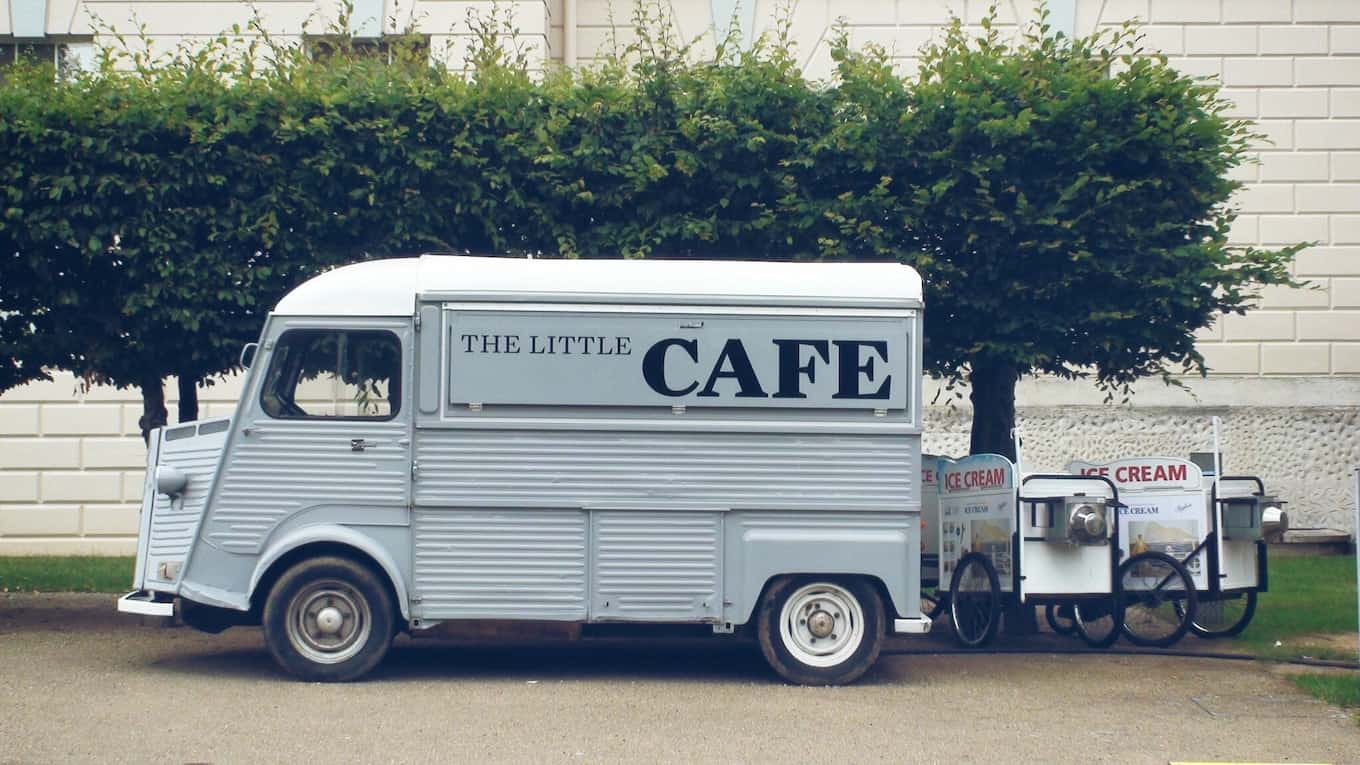 The Little Cafe food truck
