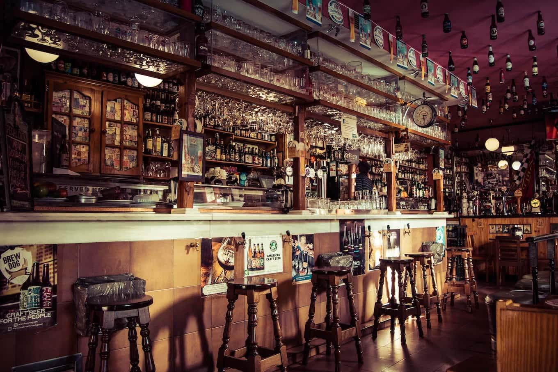 A local bar