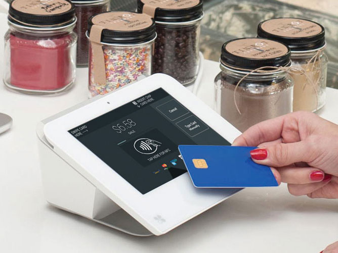 Contactless payment with Clover Mini