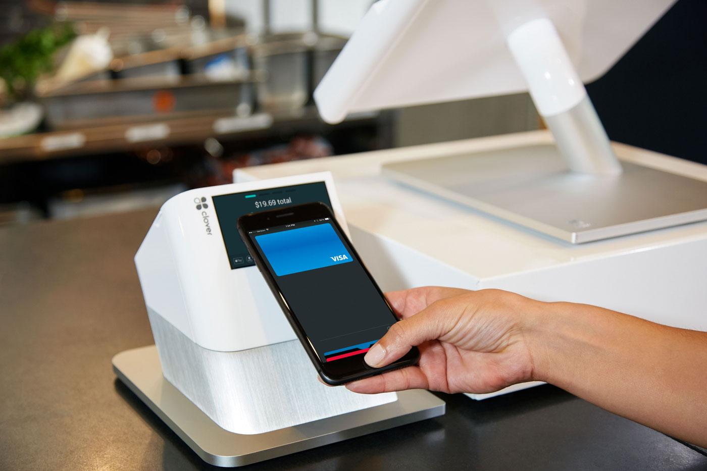 Making an NFC payment