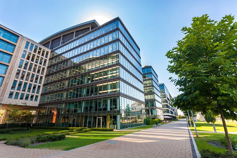Professional building complex