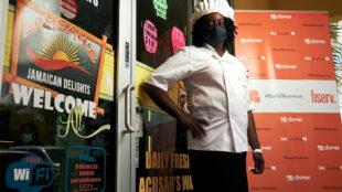 Hyacinth Jones of Achsah's Jamaican Restaurant