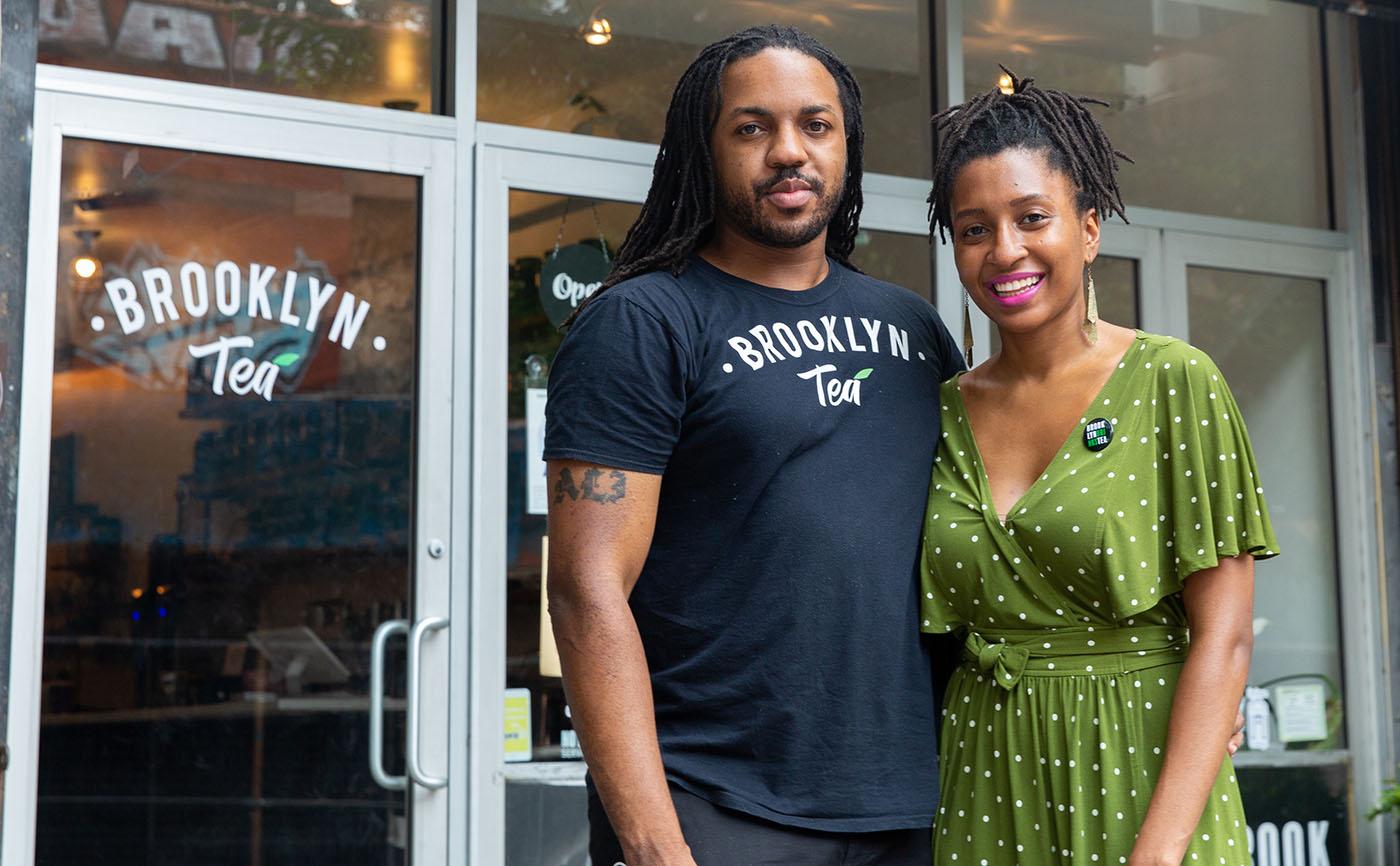 Brooklyn Tea co-owners