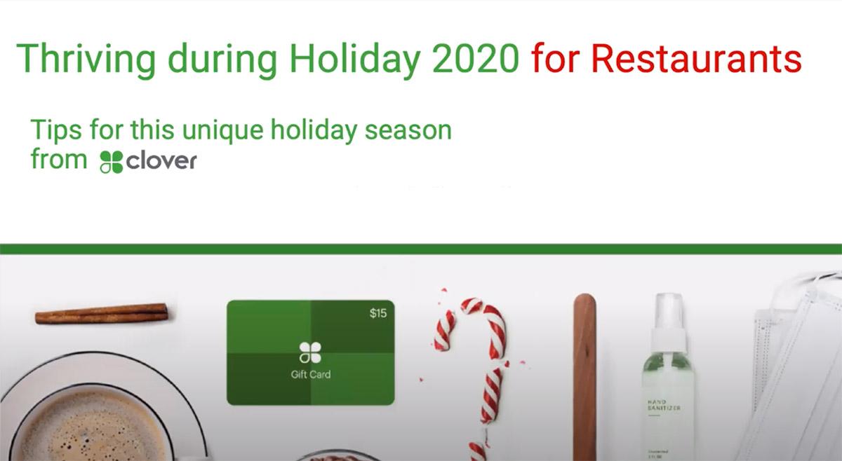 Holiday 2020 - Restaurant webinar thumbnail