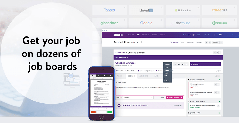 Get your job on dozens of job boards