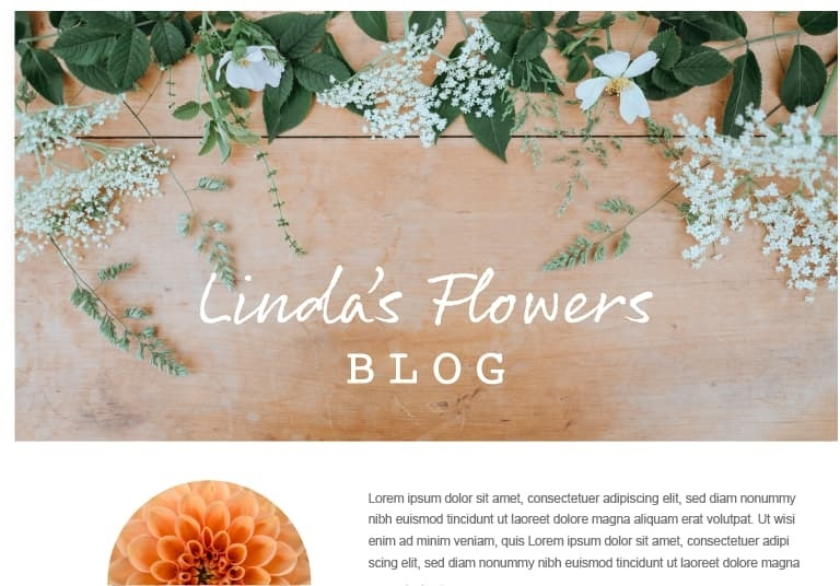 Linda's Flowers Blog