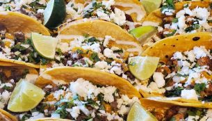 Tacos from Reyna's Tacos
