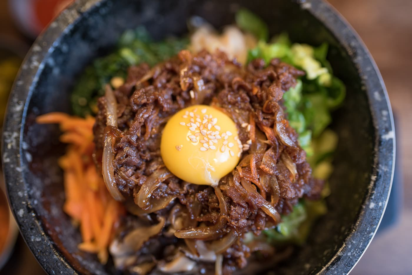Korean food from Bulbap Grill