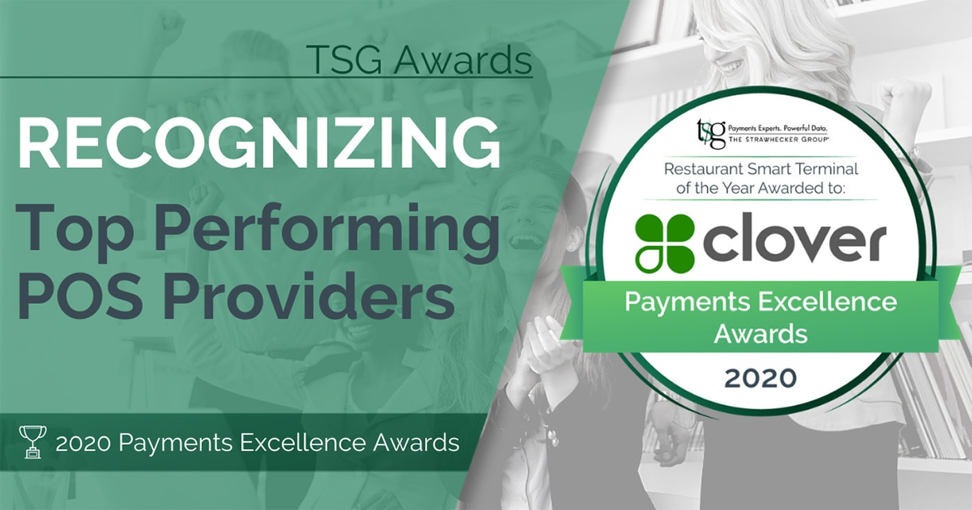 Clover wins a Payments Excellence Award