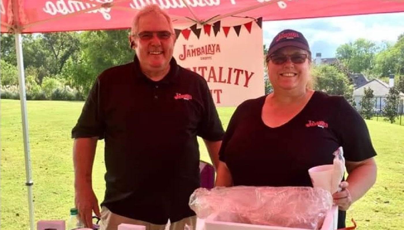 Kathy and Lou Fives of The Jambalaya Shoppe Acadian