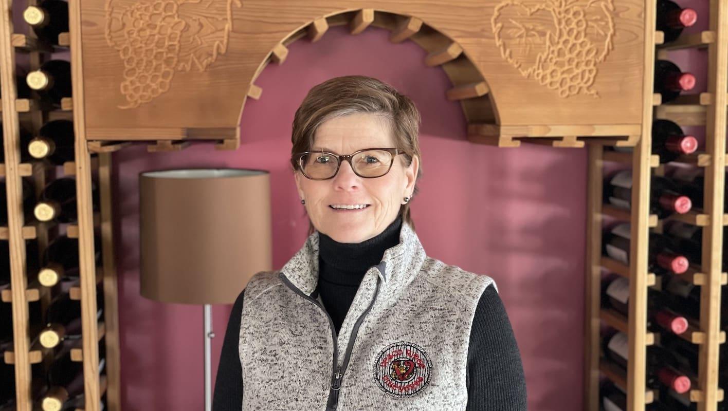 Nancy Vesco of Vesco Ridge Vineyards