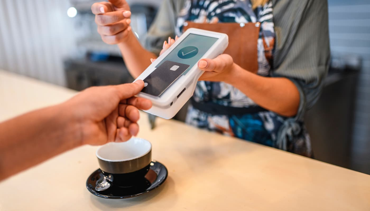 Approved contactless card payment