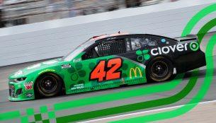 Clover's No. 42 car for the 2021 NASCAR Daytona 500