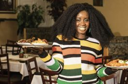 Fannie Gibson of Fannie's West African Cuisine
