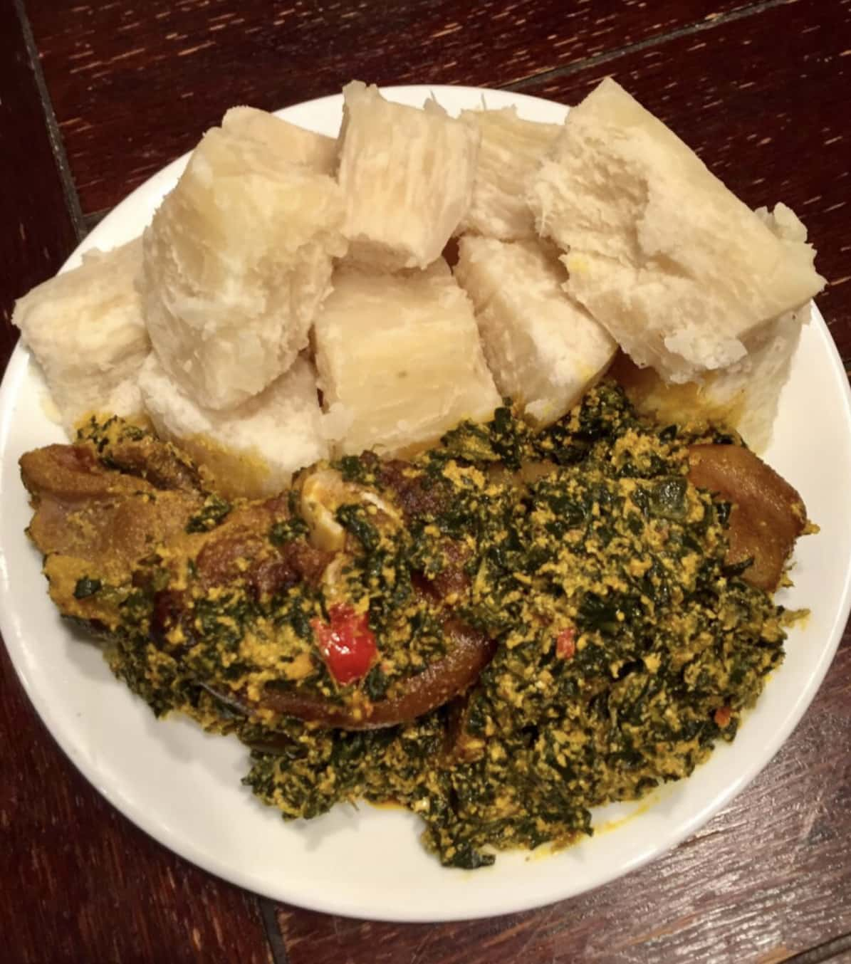 Food from Fannie's West African Cuisine