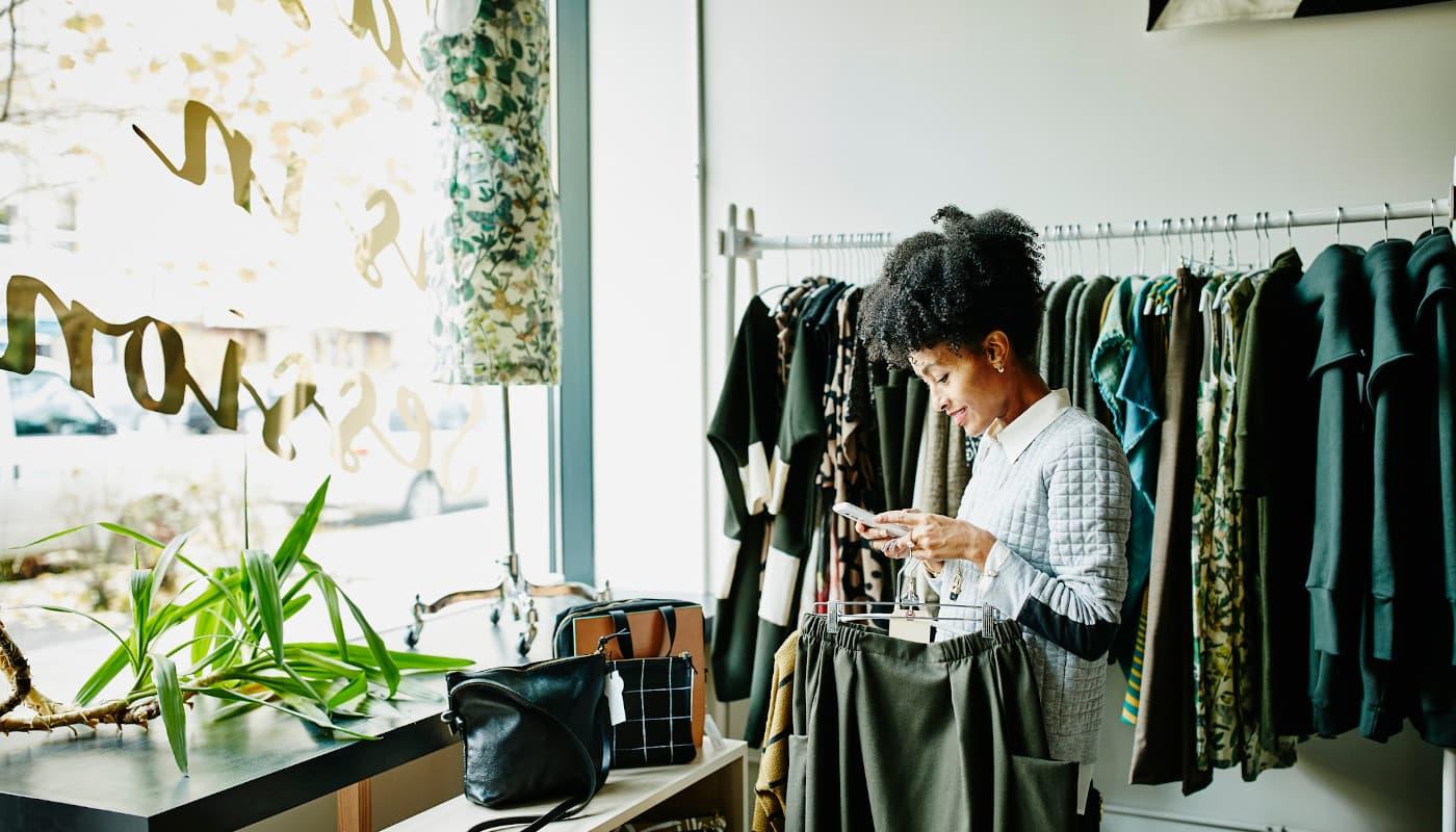 Minority retail shop owner