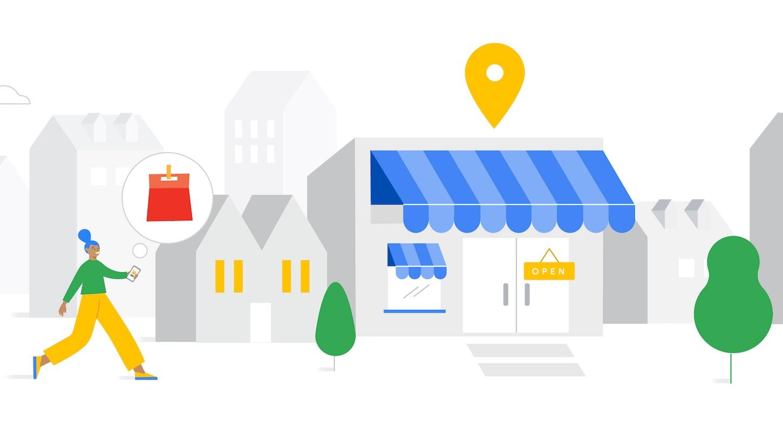 Google business profile graphic