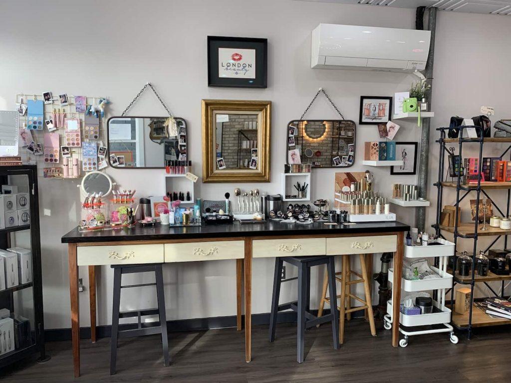 Beauty Counter at London Beauty