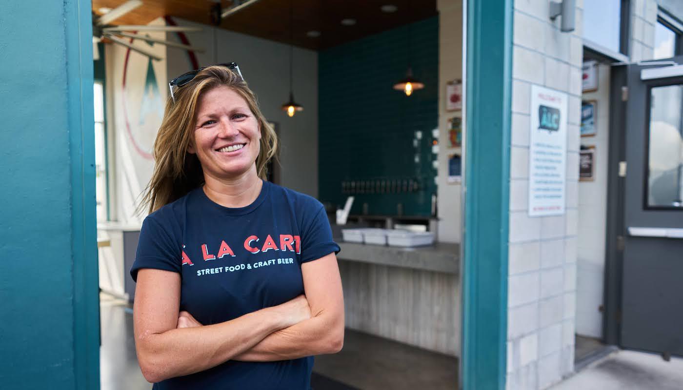 April Williams of A La Cart Orlando
