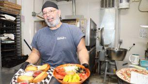 Arturo Garza (Gonzo) of Gonzo's Rock And Roll Pizzeria