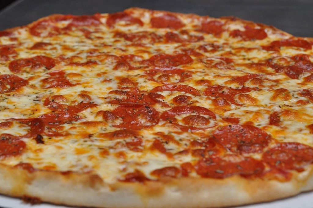 Pizza from Gonzo's Pizzeria