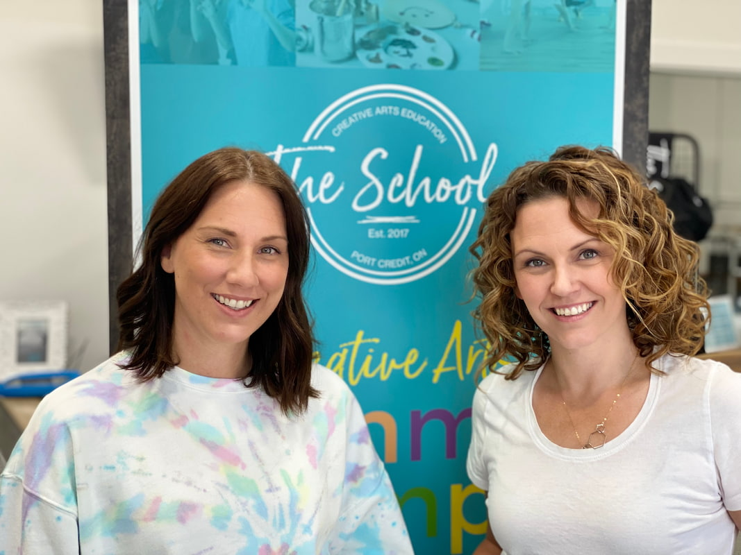 Image of co-owners of The School - Creative Arts Education