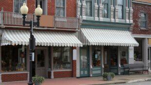 Main Street storefronts