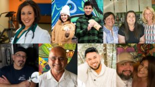 Collage of Hispanic business owners