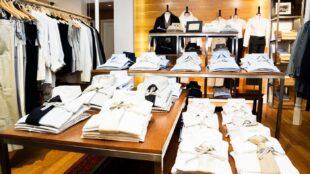 Mens clothing display